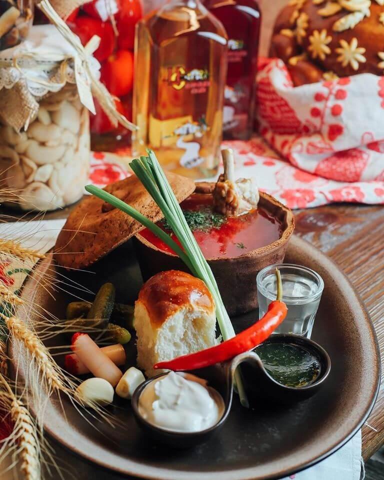 Национальные блюда Украины