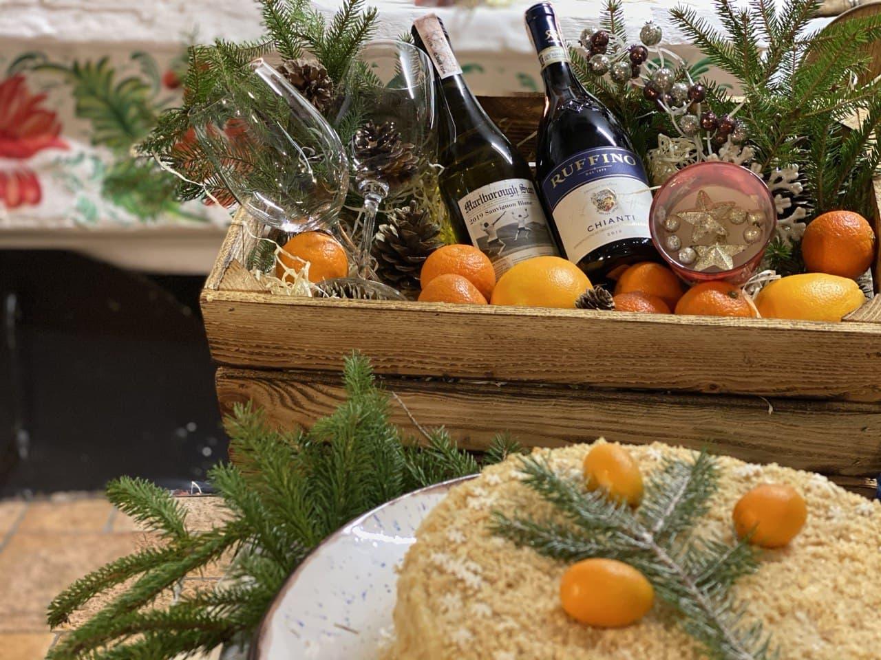 Рождественский подарок от ресторана Царское село