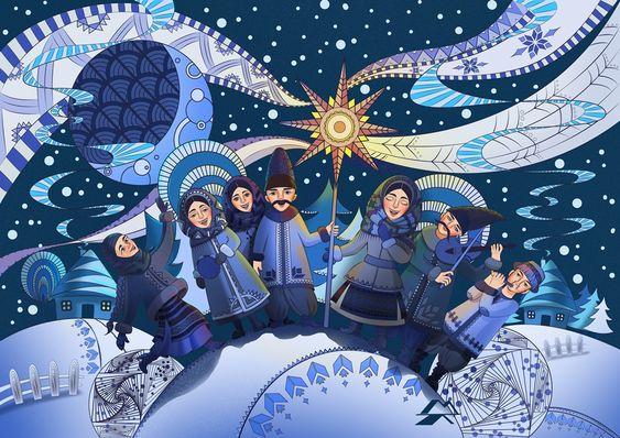 Christmas day in Tsarske Selo