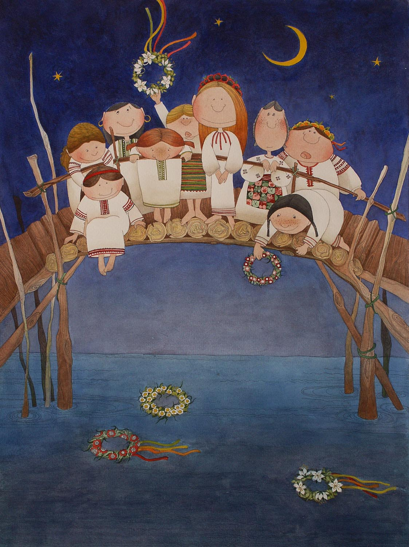Свято Івана Купала у Царському селі